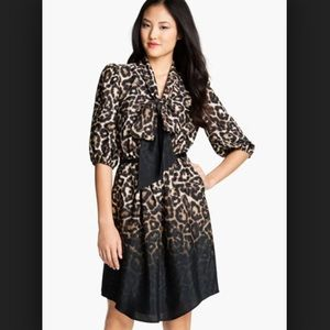 NWOT Vince Camuto leopard dress